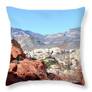 Red Rock Canyon Nv 8 Throw Pillow