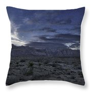 Red Rock Canyon State Park Throw Pillow