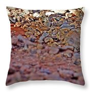 Red Rock Canyon Stones 1 Throw Pillow