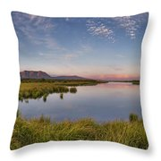 Red Rock Lakes Throw Pillow
