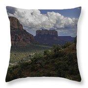 Red Rock Of Sedona Arizona Throw Pillow