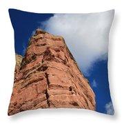 Red Rock Throw Pillow
