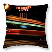 Red Rocket 7 Throw Pillow