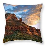 Red Rocks Sedona, Az Throw Pillow