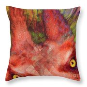 Red Rover Throw Pillow