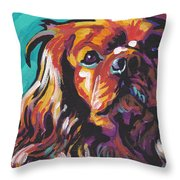 Red Ruby Throw Pillow
