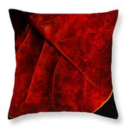 Red Sea Grape Throw Pillow