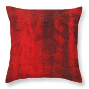 Red Shadows 2001 Throw Pillow