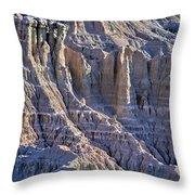Red Shirt Formation 2 Throw Pillow