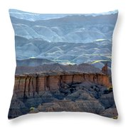 Red Shirt Formation Throw Pillow