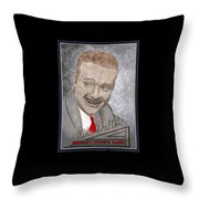 Red Skelton Throw Pillow