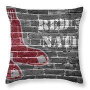 Red Sox Nation Throw Pillow