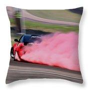 Red To Pink - Drifter Throw Pillow