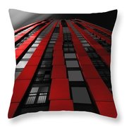 Red To The Sky Throw Pillow