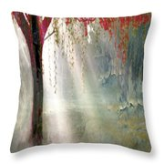 Red Tree 1  Throw Pillow