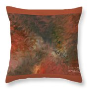 Red Triumph Throw Pillow