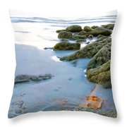 Red Tshirt Throw Pillow