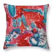 Red, White, And Blue Throw Pillow