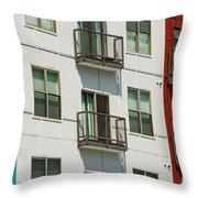 Red - White - Blue Throw Pillow