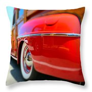 Red Woody Oc Throw Pillow