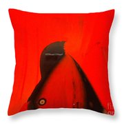 Red-y Throw Pillow