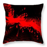 Red Zone Throw Pillow