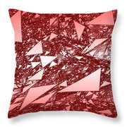 Red.288 Throw Pillow