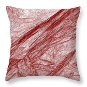 Red.289 Throw Pillow