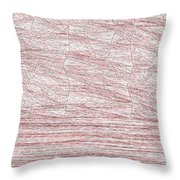 Red.315 Throw Pillow