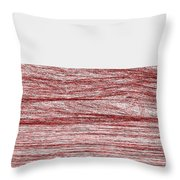 Red.316 Throw Pillow