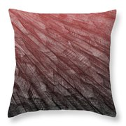Red.385 Throw Pillow