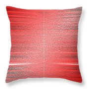 Red.4 Throw Pillow