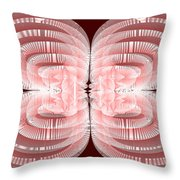 Red.479 Throw Pillow