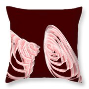 Red.481 Throw Pillow