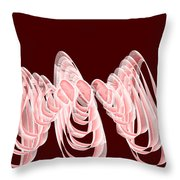 Red.482 Throw Pillow