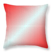 Red.5 Throw Pillow