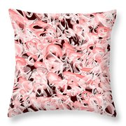 Red.535 Throw Pillow