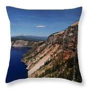 Redcloud Cliff Throw Pillow