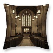 Redemption - Church Of Heavenly Rest #3 Throw Pillow