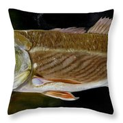 Redfish Study  Throw Pillow