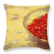 Redkurrants Throw Pillow
