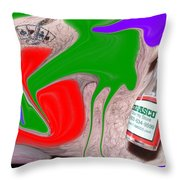 Redneck Fear Throw Pillow