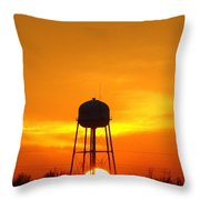 Redneck Water Heater For Whole Town Throw Pillow