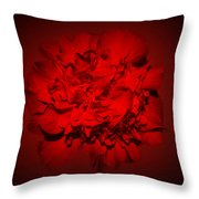 Red,red Throw Pillow