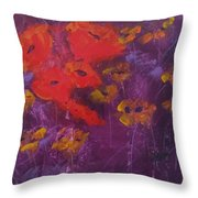 Red's My Color Throw Pillow