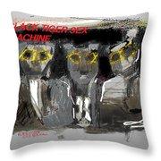 Redux Btsm Throw Pillow