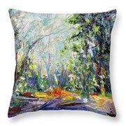 Redwood Dream Throw Pillow