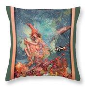 Redwood Fairy Throw Pillow