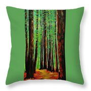 Redwoods Majestic 2 Throw Pillow
