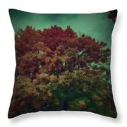 Reed Tree Throw Pillow
